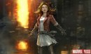 The Avengers: Age of Ultron - concept art con Scarlet Witch, Quicksilver e Hulk