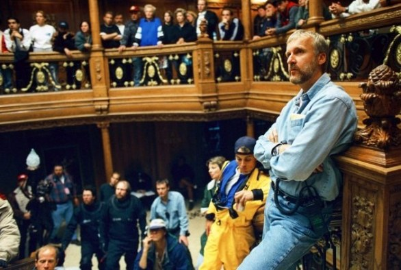 Titanic James Cameron Sul Set