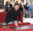 Una stella per Russell Crowe sulla Hollywood Walk Of Fame