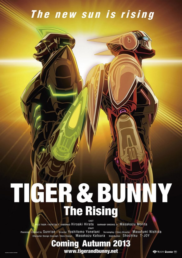 Tiger and Bunny the Movie 2 - The Rising poster