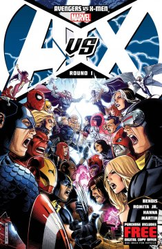 Avengers Vs X-Men First Cover