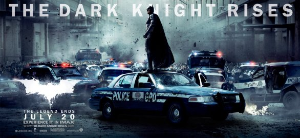 Batman The Dark Knight Rises New Poster Online