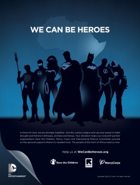 DC Comics We Can Be Heroes Heroes