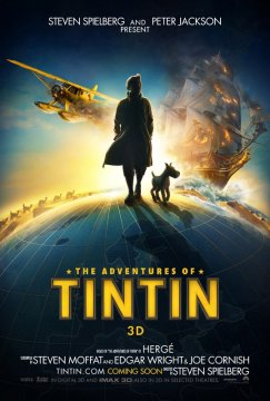 Film - Ecco il poster di The Adventures of  TinTin