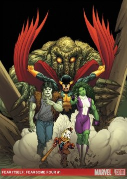 Marvel Comics Fearsome Four