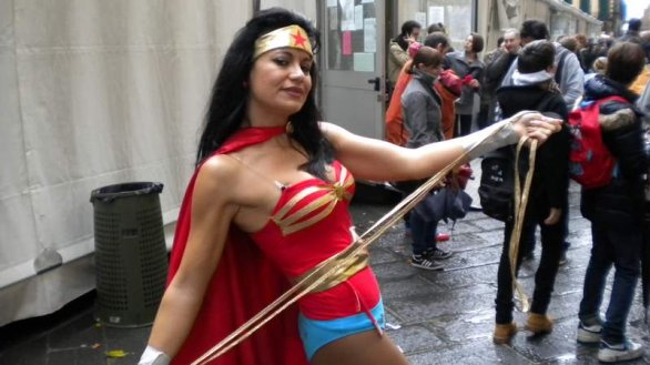 Wonder Woman a Lucca