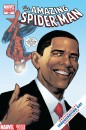 Amazing Spider-Man e Obama