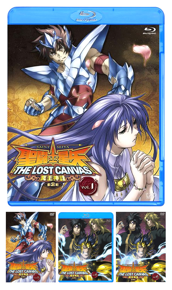Lost Canvas Chapter 2 Blu-ray 2