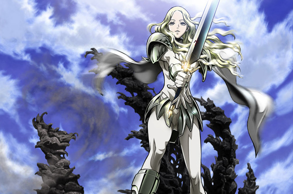 Claymore, questa sera su Man-Ga il primo episodio dell'anime