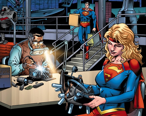 Convergence Preview Miniserie Parte 3
