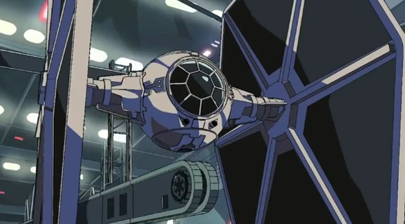Corto animato su Star Wars 01