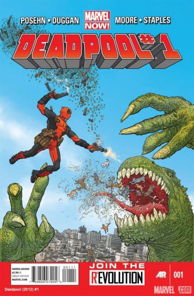 Deadpool #1, online la sneek peek del reboot
