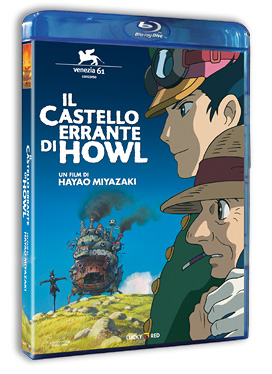 Il castello errante di Howl Blu-ray Lucky Red