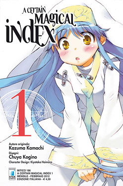 A Certain Magical Index volume 1 Star Comics al prezzo lancio di 1.90 euro