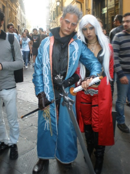 I Cosplayer di Lucca Comics 2011
