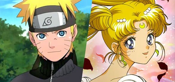 Naruto e Sailor Moon
