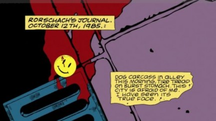 watchmen fumetto animato