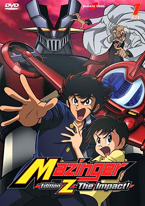 Mazinger Edition Z The Impact Box 1