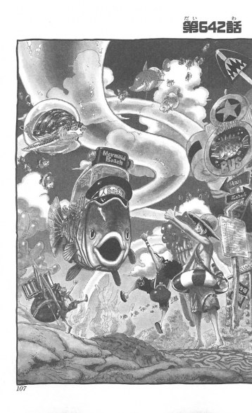 Spoiler One Piece volume 65 (pagina 107)