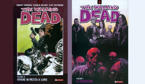 the waking dead 12 copertine