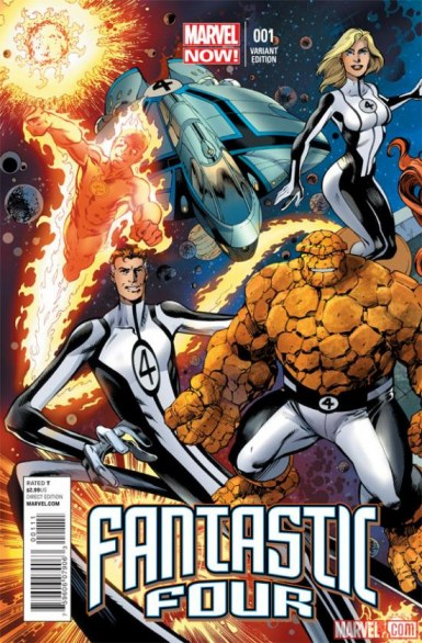 USA - Online due variant cover per Fantastic Four #1 e FF #1