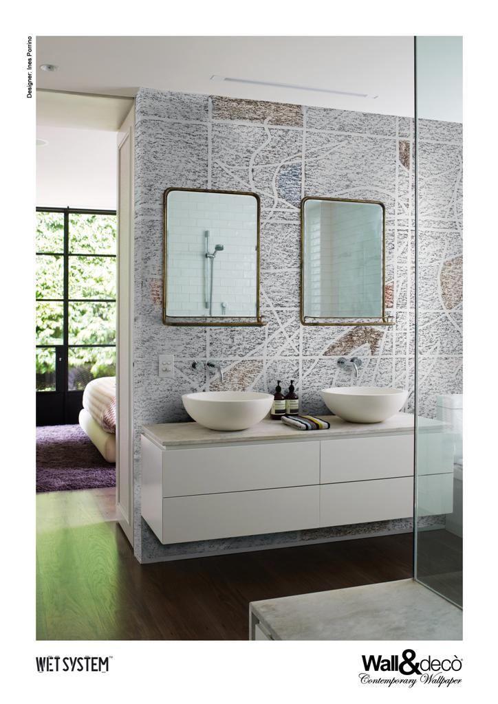 Wall dec wall covering bagno ed esterni for Wall and deco