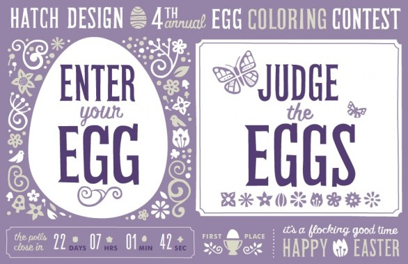 4th Annual Egg Coloring Contest