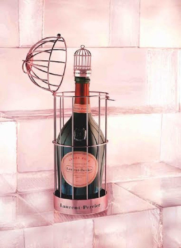 Cage Cuvée Rosé Laurent-Perrier