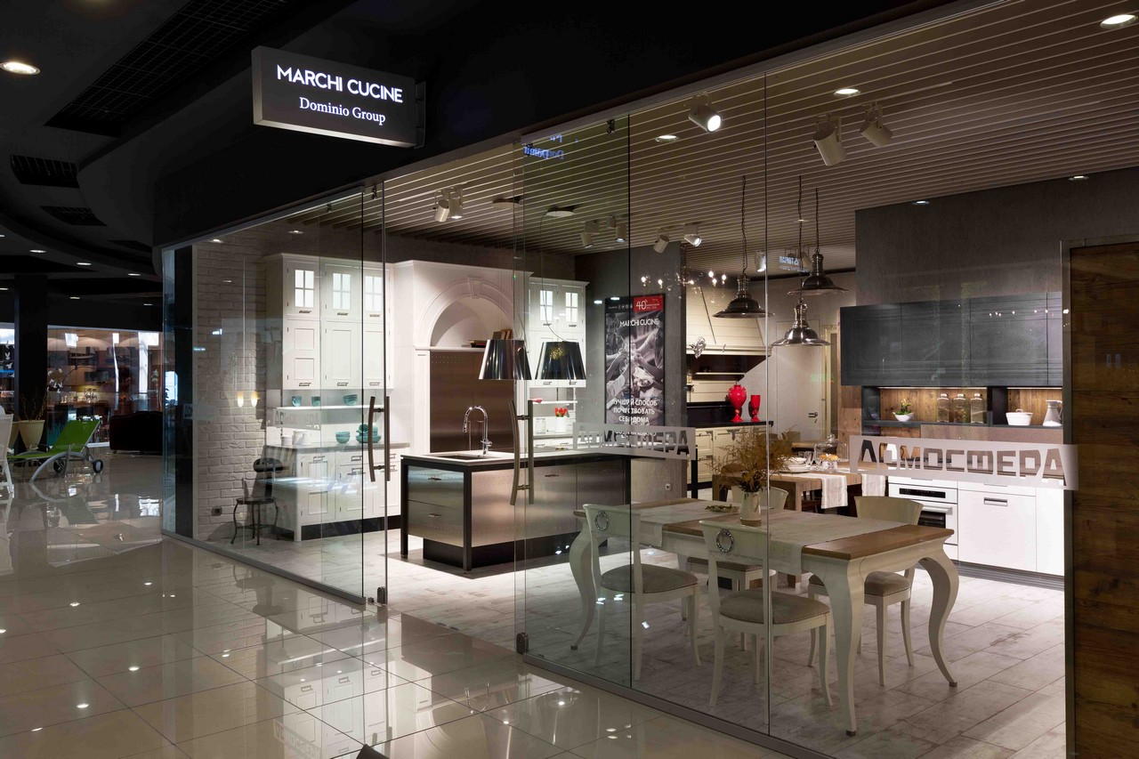 Cucine Marchi Group. Image May Contain Person Standing And Indoor ...