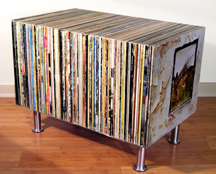 Album Side Table by Bug House1