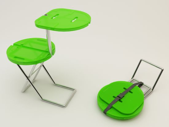 Camping Chair-Table