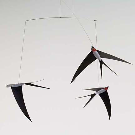 Flensted Swallow Mobile by Christian Flensted