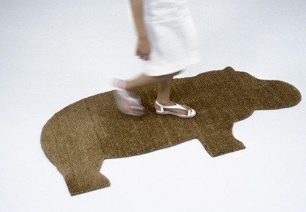Hippo mat by Ed Annink