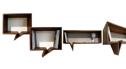 Comic Bookshelf by Fusca Design