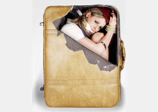 Suitcase Stickers di Cheeky