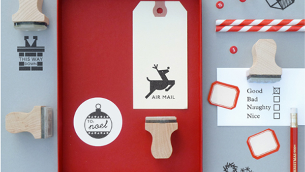 Present and Correct - Xmas Pick 'n' Mix Stamps