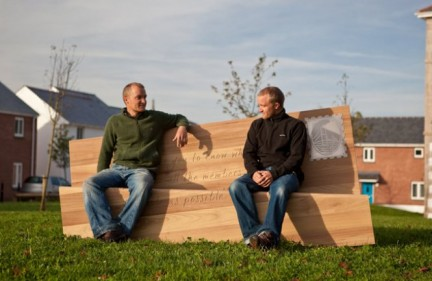Letter Bench by Boex