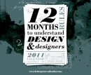 Calendari 2011, 12 Months to Understand Design