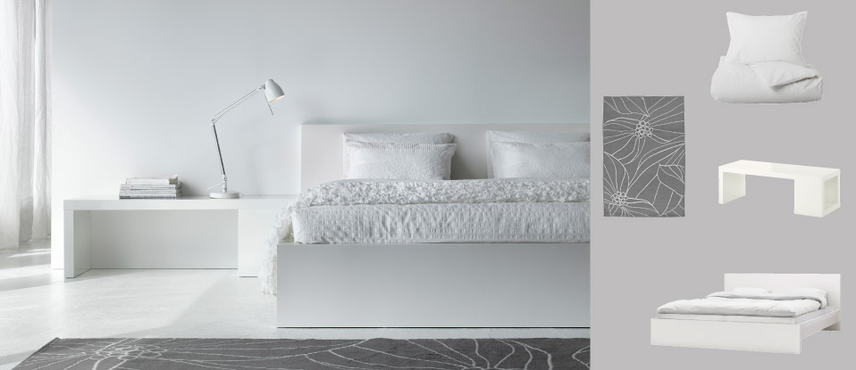 Camere da letto catalogo 2013 di ikea for Camera da letto total white