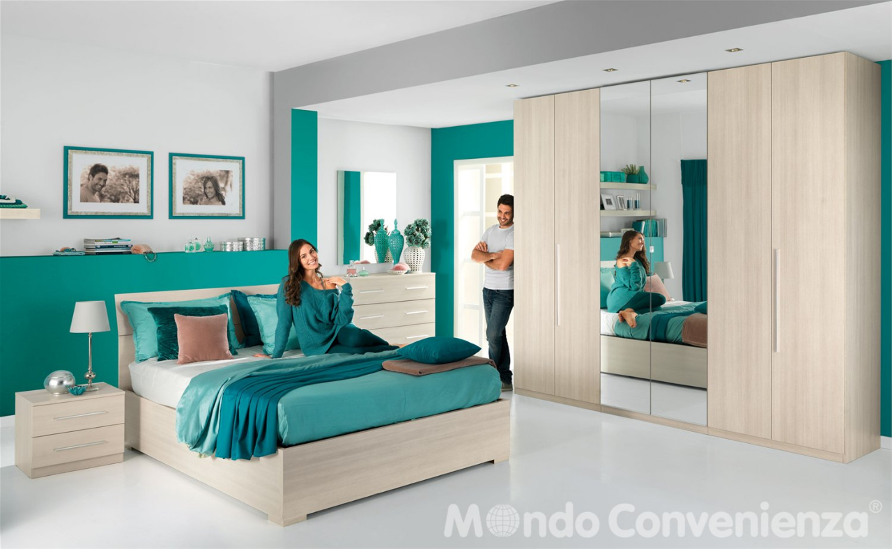 le camere da letto low cost del catalogo mondo convenienza - Camera Da Letto Centro Convenienza