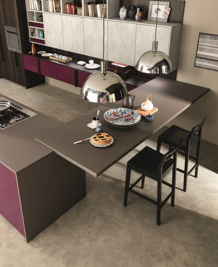 Cucine Febal: le isole contemporanee e moderne per il brunch ...