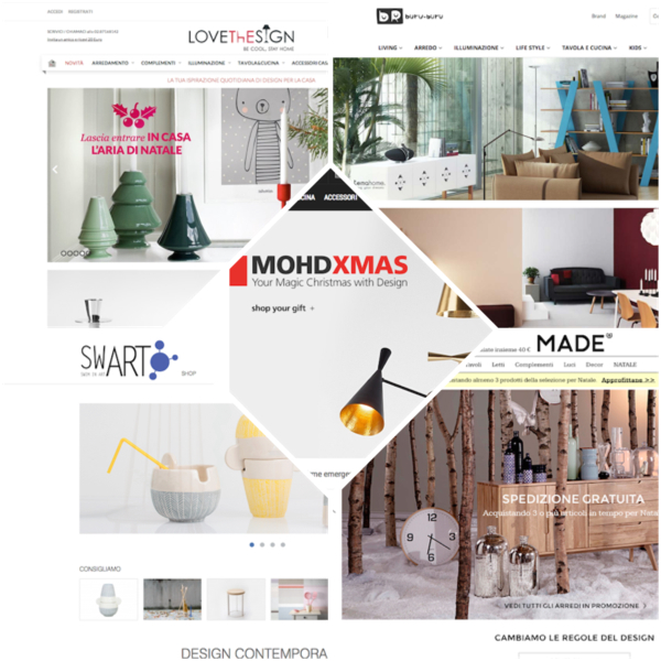 Regali di natale e shop di design top 5 for Regali natale design