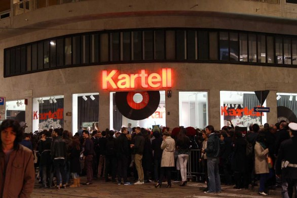 Foto: il party Kartell goes Rock