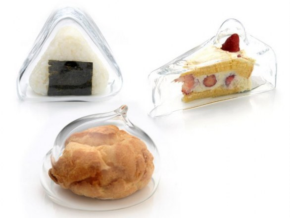 Glass food covers