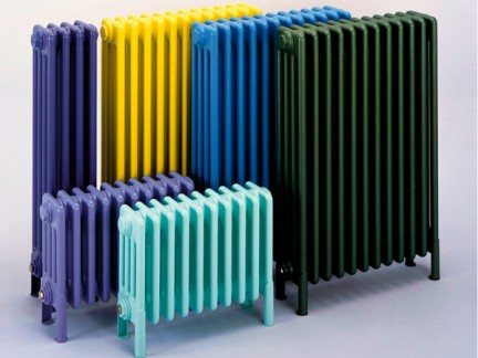 I radiatori classici e colorati di bisque Un radiateur design colore
