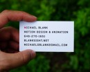 Business card by Jose Antonio Contreras