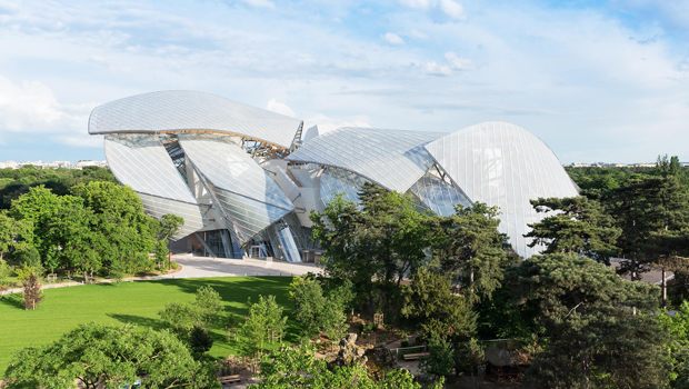 Fondation Louis Vuitton - Frank O. Gehery,  Paris