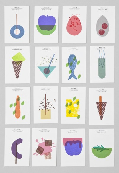 La visual identity dei food designer Keukenconfessies
