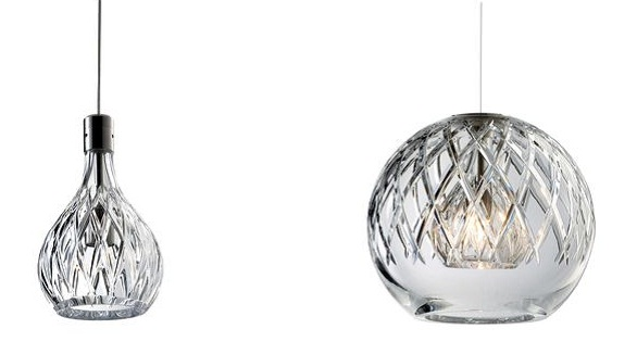 Lampadari di cristallo baccarat a sospensione for Accessori lampadari