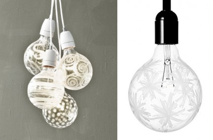 Light Shadow bulb, lampadine decorate per giochi di luci e ombre